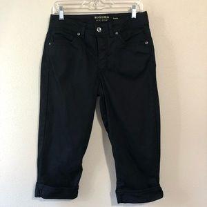 🎈5/$10 Sonoma Black Cuffed Capris